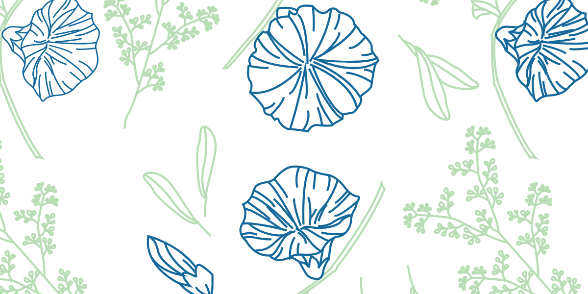 Branches and bell whistles pattern